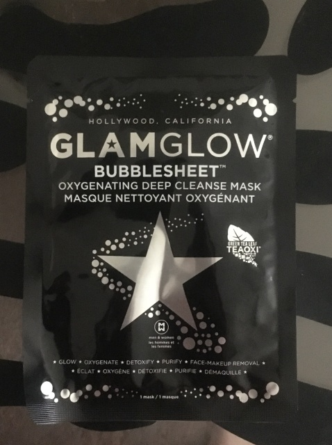 Review: GlamGlow Sheet Bubble Mask!